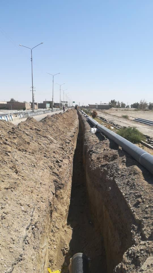 پروژه گازرسانی به سیستان